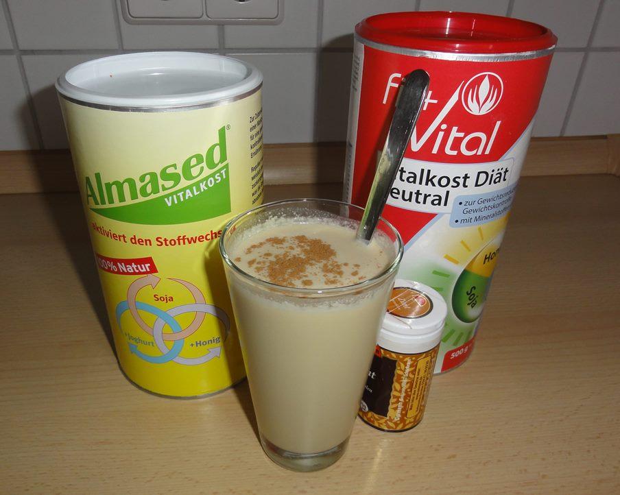 Shakes für die Almased Turbi-Diät und Fit+Vital Vitalkost Diät