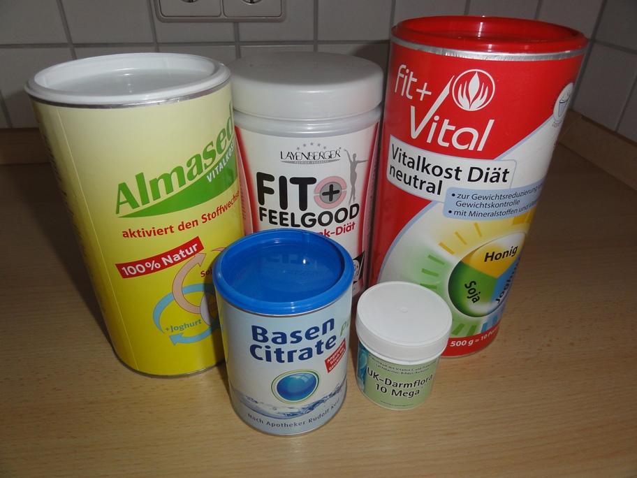 Shake für die Almased Turbo-Diät und empfohlene Ergänzungen